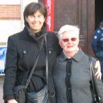Mme Amans-Gisclard et Lili au Capitole