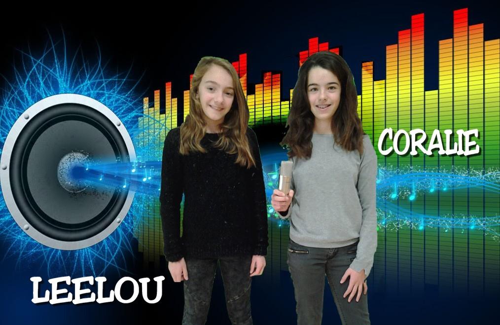 Leelou et Coralie